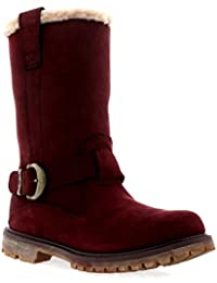 Timberland Nellie Pull On Mujer Botas Granate