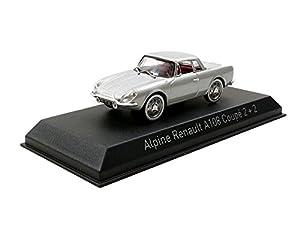 Norev-Alpine Renault A 108Copa 1961, 517821, Plata, en Miniatura (Escala 1/43