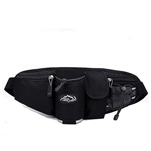 LifeWheel Fanny-Pack Gürteltasche Unisex Outdoor-Sport-Gymnastik-Camping Wandern Bike Hüfttasche mit Flaschenhalter Einstellbare Gürteltasche (Merrell-tasche)
