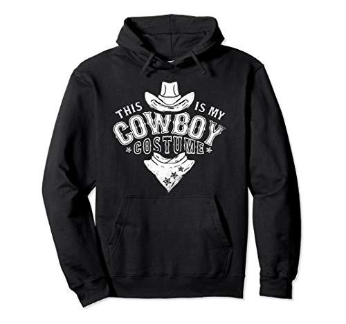 Western Lustige Kostüm Country - Dies ist mein Cowboy Kostüm Lustiges Western Geschenke Pullover Hoodie