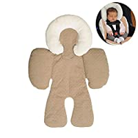 Baby Body Support Pillow,Volwco Infant To Toddler Head Protection Baby Strollers Head Rests Neck And Body Cushion Perfect For Car Seats And Strollers, Detachable Head For Versatility Child