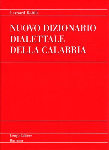 Nuovo dizionario dialettale della Calabria