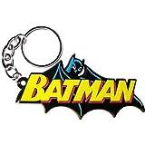 "BATMAN Cape Cabo Logo, Officially Licensed DC Comic Hero, 3"" High Quality Calidad Ruber KEYCHAIN LLAVERO"