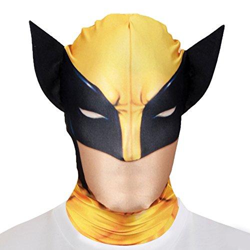 Costume - Morph Wolverine Marvel Maschera per adulti - One Size