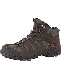 Hi-Tec Penrith hombre resistente al agua Trail Walking botas de cordones Entrenador Zapatos de Senderismo, multicolor, 11