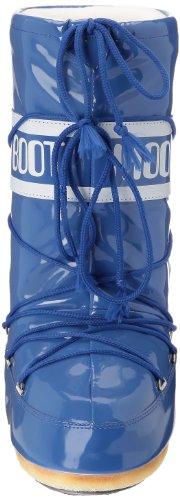 Moon Boot Vinil, Boots de neige - Femmes Bleu (Blu)