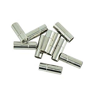 10 Stücke DIY Magnetische Verschluss für Armband, Halskette Schmuck Herstellung – 8mm