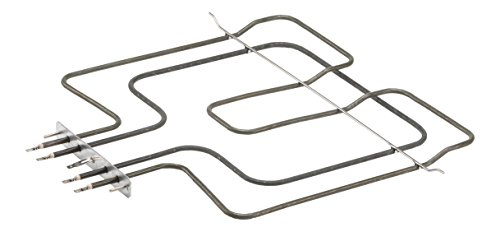 DREHFLEX® - Oberhitze/Heizung/Heizelement - passend für diverse Bauknecht/Whirlpool/Ignis/Functionica Herde/Backofen - passend für Teile-Nr. 481225998466