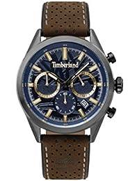 d610ef33b7fb Timberland Reloj Cronógrafo para Hombre de Cuarzo con Correa en Cuero  TBL.15476JSU 03