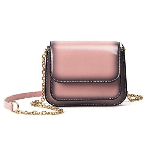 KYFW Womens Die Neue Weibliche Paket-Art Und Weise Einfache Wilde Schulter-Kurier-Beutel-Handtaschen C