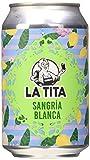 La Tita Sangría Blanca Lata - 24 latas x 330 ml