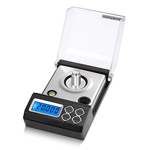 DuDuDu Precision Milligramme numérique Digital Scale Professional Poudre Balance électronique échelle échelle de Bijoux Or 20g 30g 50g 0,00 1g