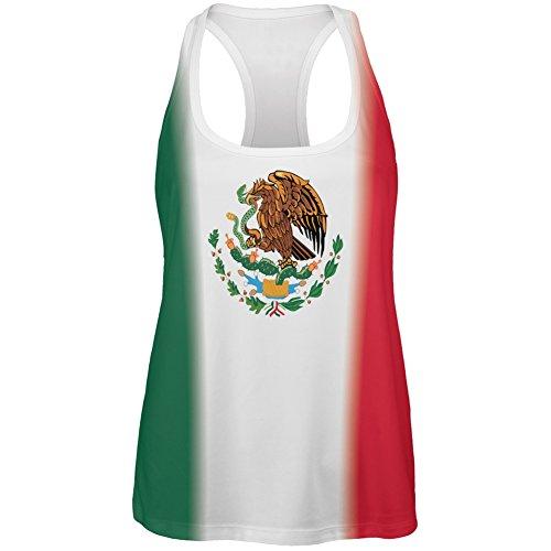 Mexikanische Flagge Cinco De Mayo aller Damen Tank-Top White