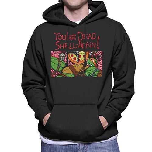 Cloud City 7 Youre Dead Shell Brain Ninja Gaiden Turtles Men's Hooded Sweatshirt