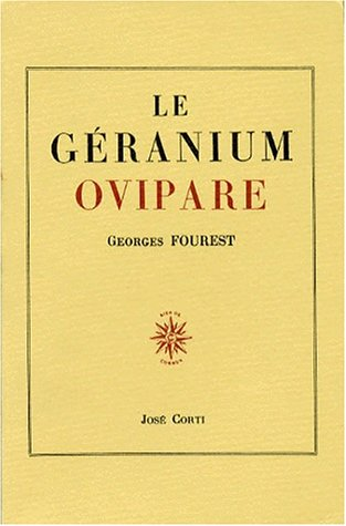 Le Géranium ovipare par Georges Fourest