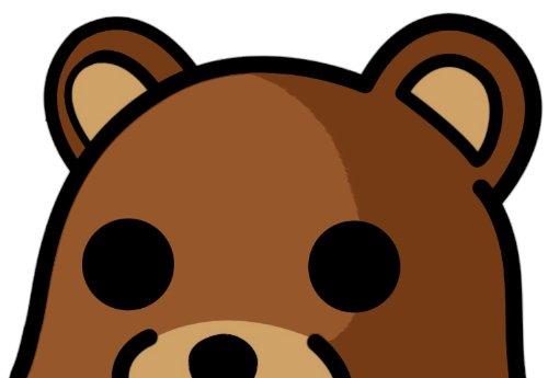 Kostüm Mütter Schnelle Einfache Für Und - INDIGOS UG Aufkleber Autoaufkleber JDM Die Hart - Pedo Bear Bumper Sticker Peeking Bear Car Decal 127mmX101mm