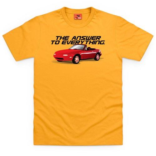PistonHeads Everything T-Shirt, Herren Gelb