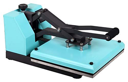 Transferdruck Textil Thermopresse Textildruckpresse T438-TB Farbe:Türkisblau - 2