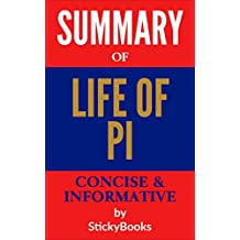 """Summary of """"Life of Pi"""" by Yann Martel - Concise & Informative Summary - StickyBooks"""""""