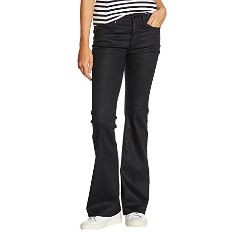 Wrangler Flare, Jeans Donna Perfect Black 1H