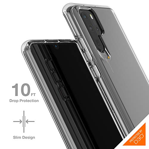 Gear4 Case for Huawei P30 Pro Advanced Impact Protection [Protected by D3O], Crystal Palace Slim & Tough for Huawei P30 Pro Case - Clear
