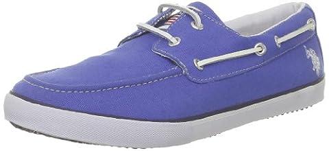 US Polo Assn Byron2, Chaussures bateau homme - Bleu (Blu), 43 EU
