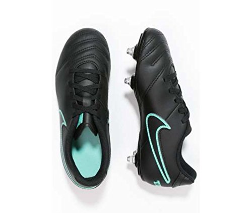 Nike Jr Tiempo Rio Iii Sg, Chaussures de Football Garçon Noir