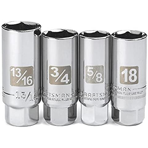 Craftsman 4 Pc. Spark Plug Socket Set, 3/8 In. Drive, Model: 34504, Outdoor&Repair Store by Hardware & Outdoor