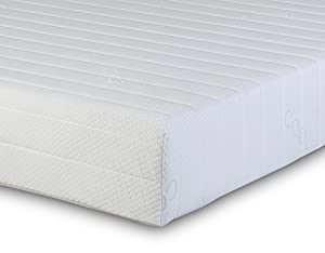 Visco Therapy Memory Foam and Reflex Zone Mattress with Micro Quilted Maxi-Cool Cover and 1 Fibre Pillow, PARENT