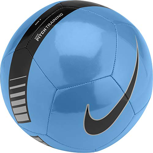 Nike Unisex Erwachsene NK Ptch Train Ball, Blau (Cyan/Silver/Black/413), Gr. 5