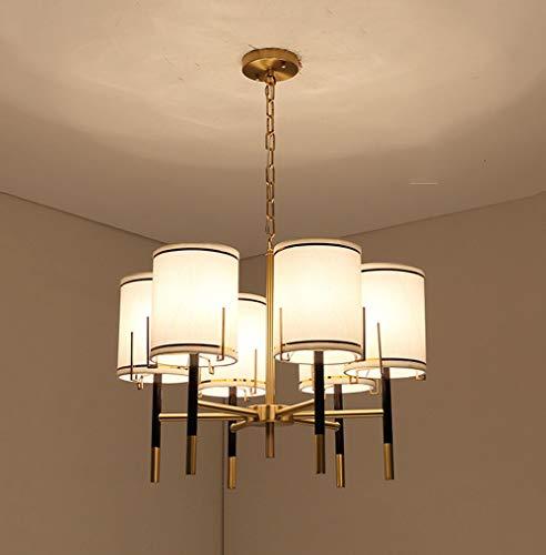 Kronleuchter Moderne Einfache Wohnzimmer Tri-Color Dimming Kronleuchter Einfache Kunst Restaurant Licht Schlafzimmer Licht Lampen Pendelleuchten, 6 Köpfe, 8 Köpfe,6heads