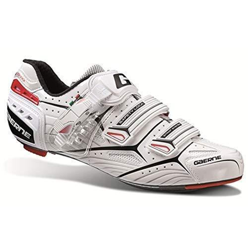 Gaerne Carbon Composite G.Platinum Scarpe Road Ciclismo, White - Bianco, 39