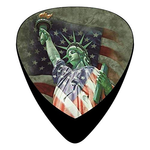 Defending Liberty Guitar Picks Celluloid Medium Girls Complete Assorted 12 Pack