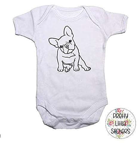 French Bulldog Baby Grow/Vest Baby Shower Gift Frenchie