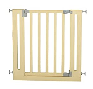 roba baumann gmbh 77 86 cm safety gate beech. Black Bedroom Furniture Sets. Home Design Ideas