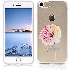 Funda iPhone 8 Carcasa Protectora OuDu Funda para iPhone 8 Caso Silicona TPU Funda Suave Soft Silicone Case - Margarita