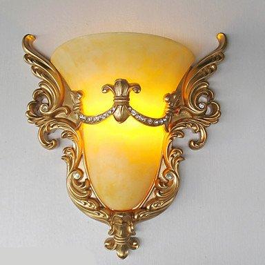 YYHAOGE Protection Des Yeux Vintage Pour Salon Mur En Plastique Light 220V 25W