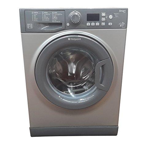 Hotpoint Smart 8kg WMFUG842P Washing Machine, White - G 3060526