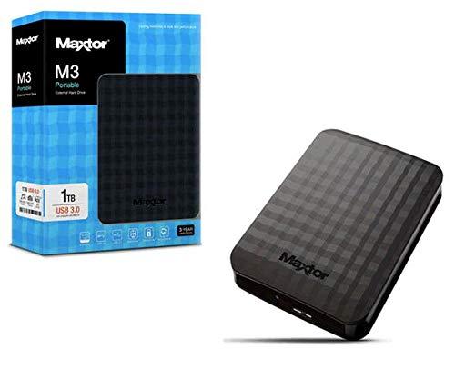 SSO) Disco Duro Externo MAXTOR M3 1TB 2.5 / USB 3.0 / STSHX-M101TCBM