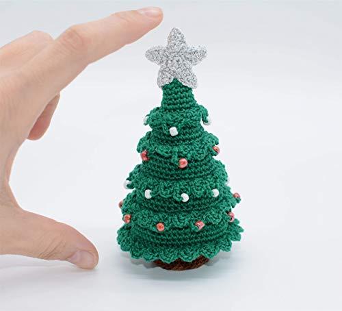 Weihnachtsbaum Geschenk, Häkeln Schmuck, kleine Dekoration, grün Ausstellungsstück