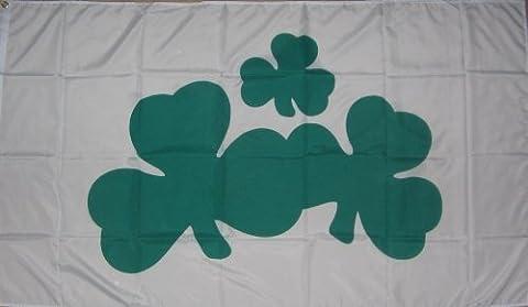 Ireland Shamrock Sleeved Boat and Tree House Flag 45cm x
