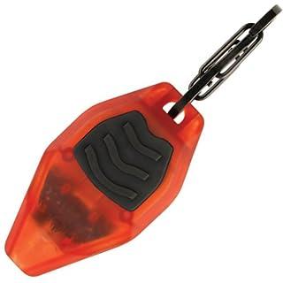 Inova MLSA-M3-R7 Microlight STS LED Keychain Flashlight, Plastic, Transparent Orange