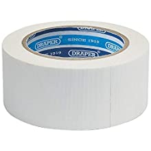 Draper 49431 33 m x 50 mm Duct Tape (White)