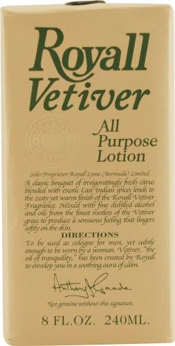 Royall Vetiver - Lotion Toute Application Vaporisateur 4.0 Oz. (120 Ml) - Pour Homme