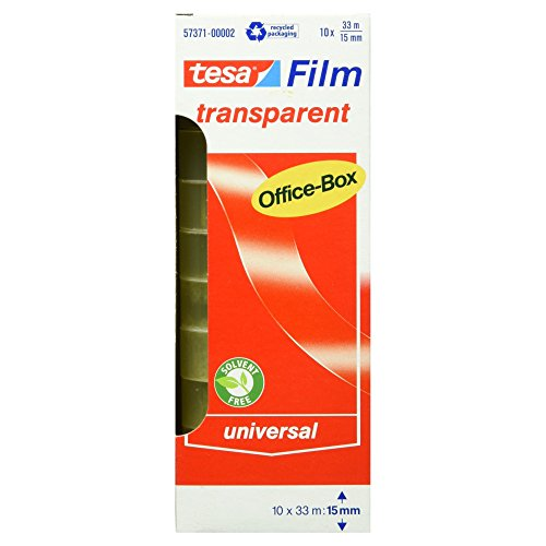 tesafilm-klebeband-transparent-office-box-mit-10-rollen-33m-x-15mm