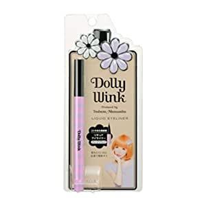 Bestofferbuy - Eyeliner Liquide Noir Dolly Wink Koji Maquillage Japon Tsubasa Masuwaka