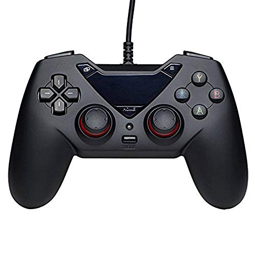 IhDFR Gamepad, kabelgebunden, Bluetooth, für Computer/Android/Tablet/TV/Spiele-Controller für PC (Windows XP/7/8/10) und Playstation 3 & Android -