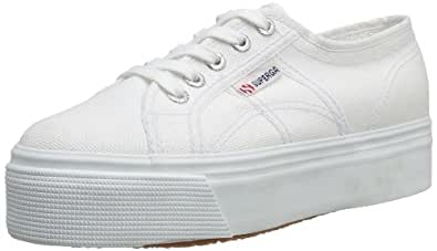 Superga 2790Acotw Linea Up And Down, Sneaker Donna, Bianco (901 White), 35 EU (2.5 UK)