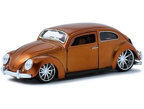 maisto-31023y-bk-vehicule-miniature-modele-a-lechelle-volkswagen-beetle-echelle-1-24-or-noir