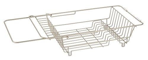 InterDesign Classico - Escurreplatos para colocar sobre el fregadero, satinado